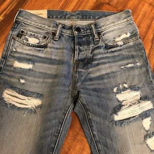 NEW Abercrombie Distressed Jeans